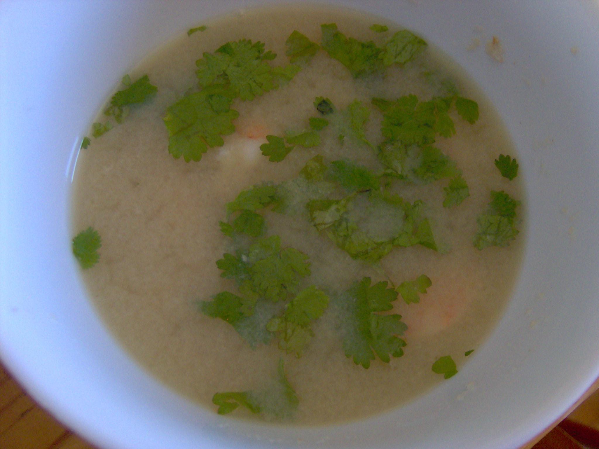 Homemade Yucatan Lemon Soup