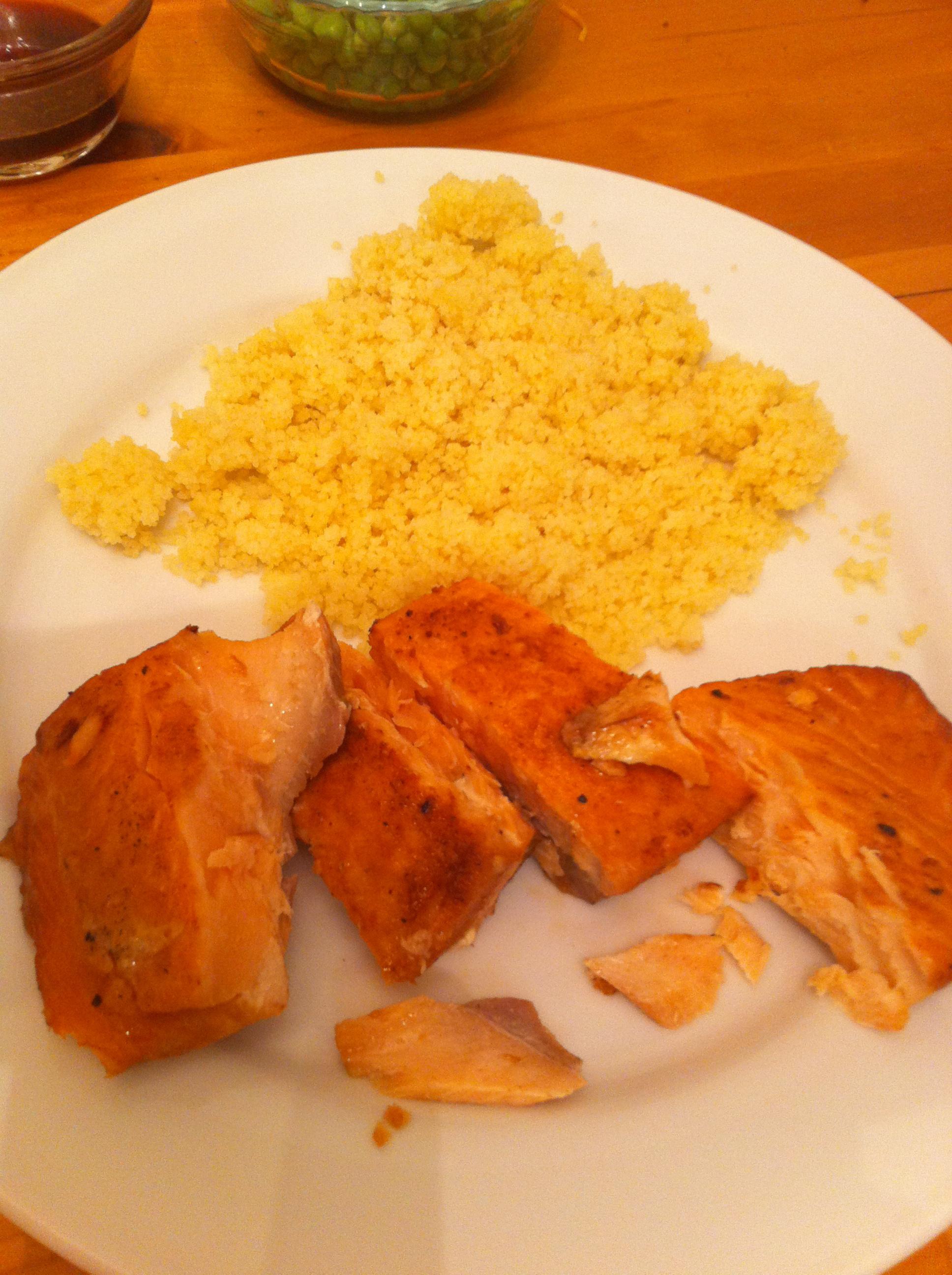 Super easy Grilled Salmon by Aurora Meyer on aurorameyer.com