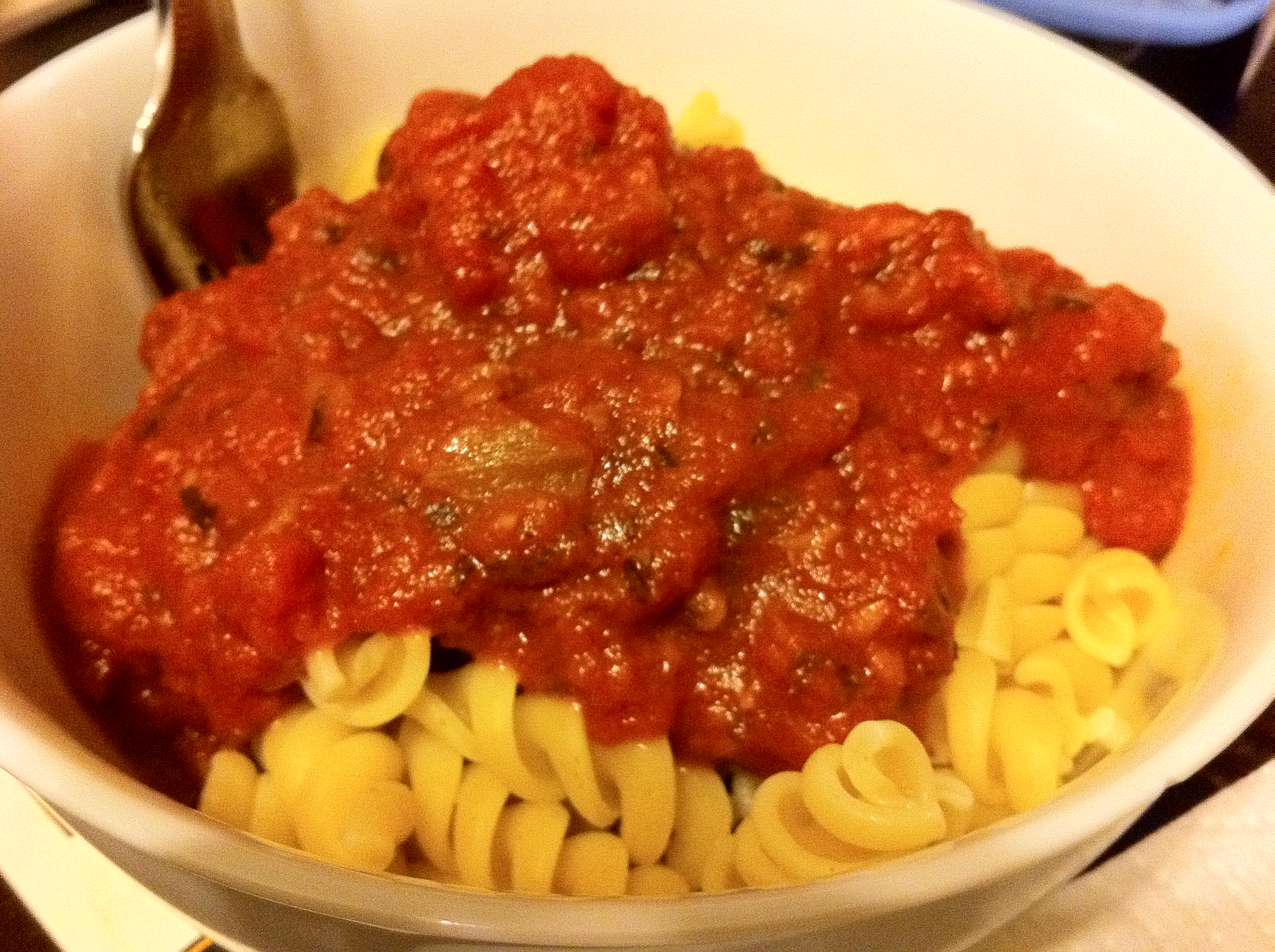 Easy Homemade Pasta Sauce by Aurora Meyer on Dispatches from the Castle