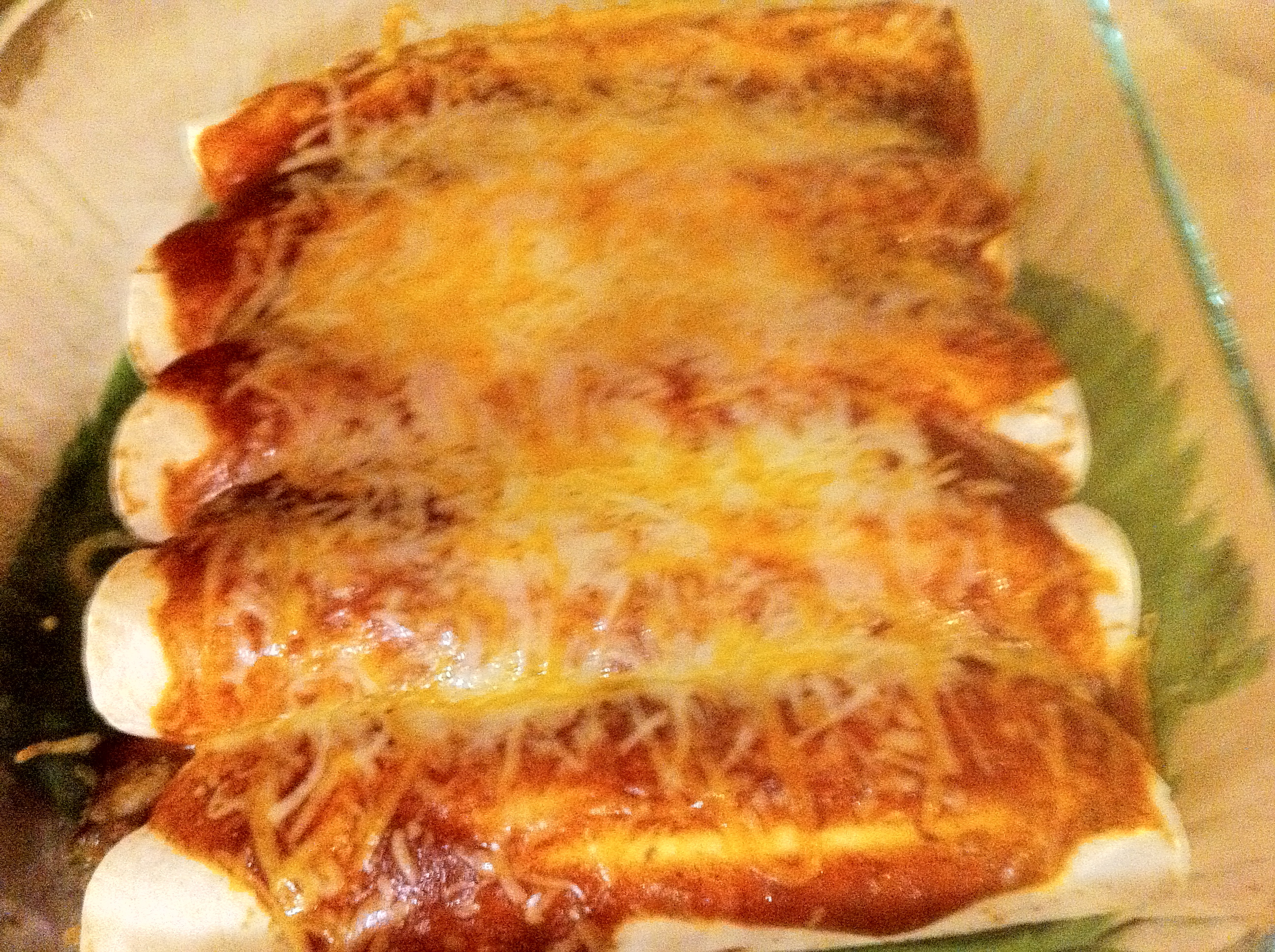 Easy Weeknight Enchiladas by Dispatches from the Castle