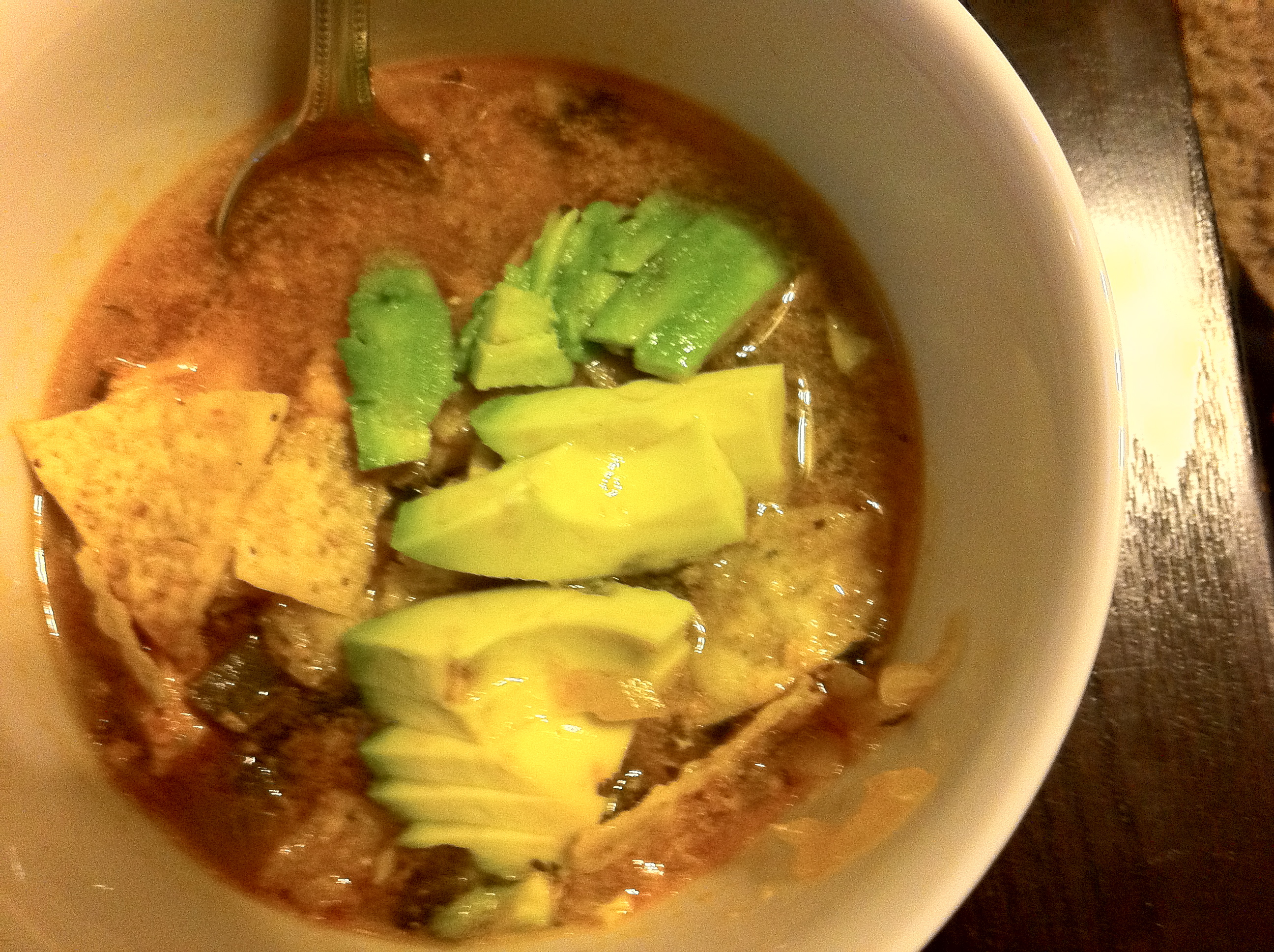 Copycat Luby's Tortilla Soup by Dispatches from the Castle