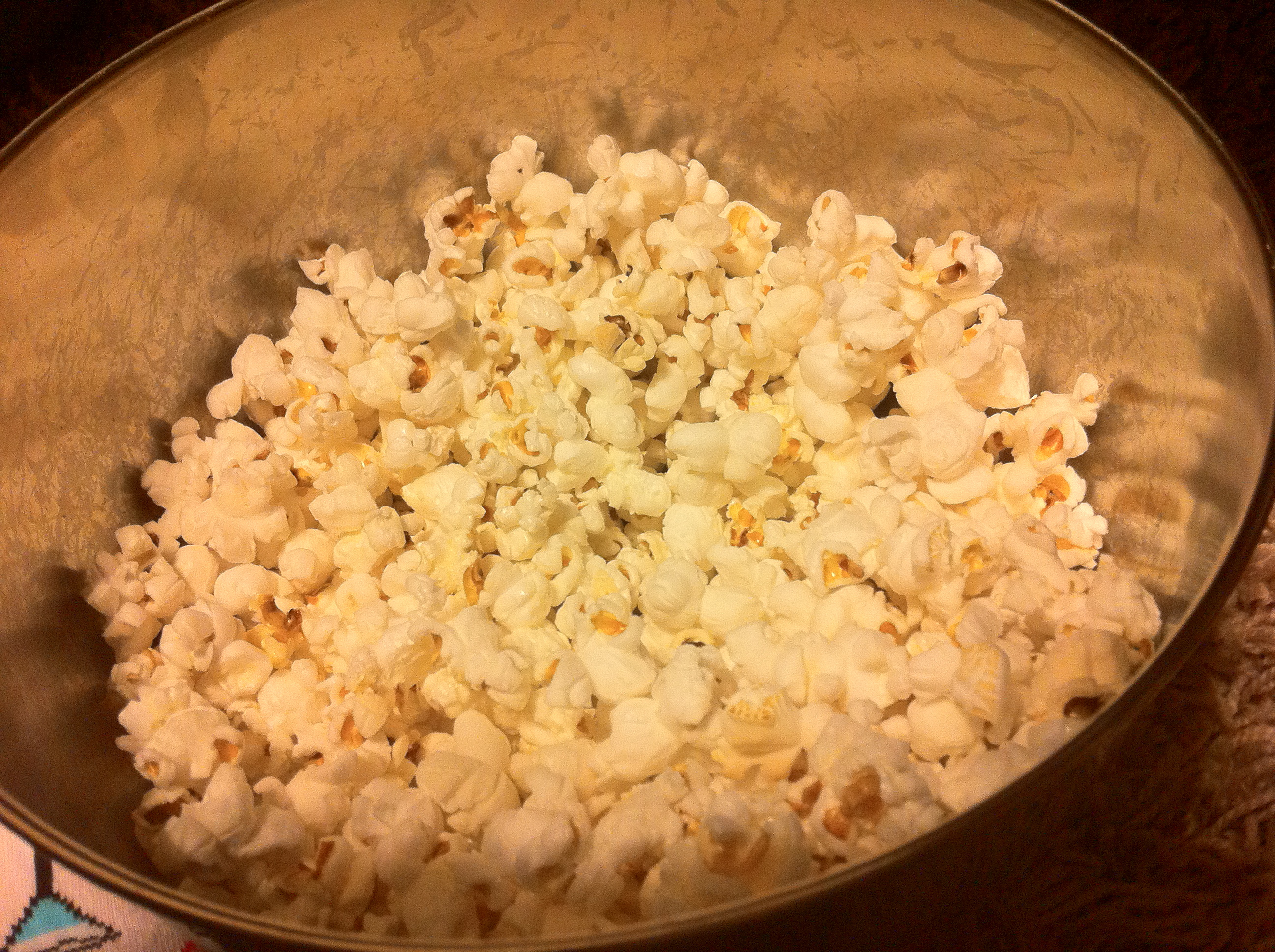 easy Homemade Stove Top Popcorn by Aurora Meyer on Dispatches from the Castle