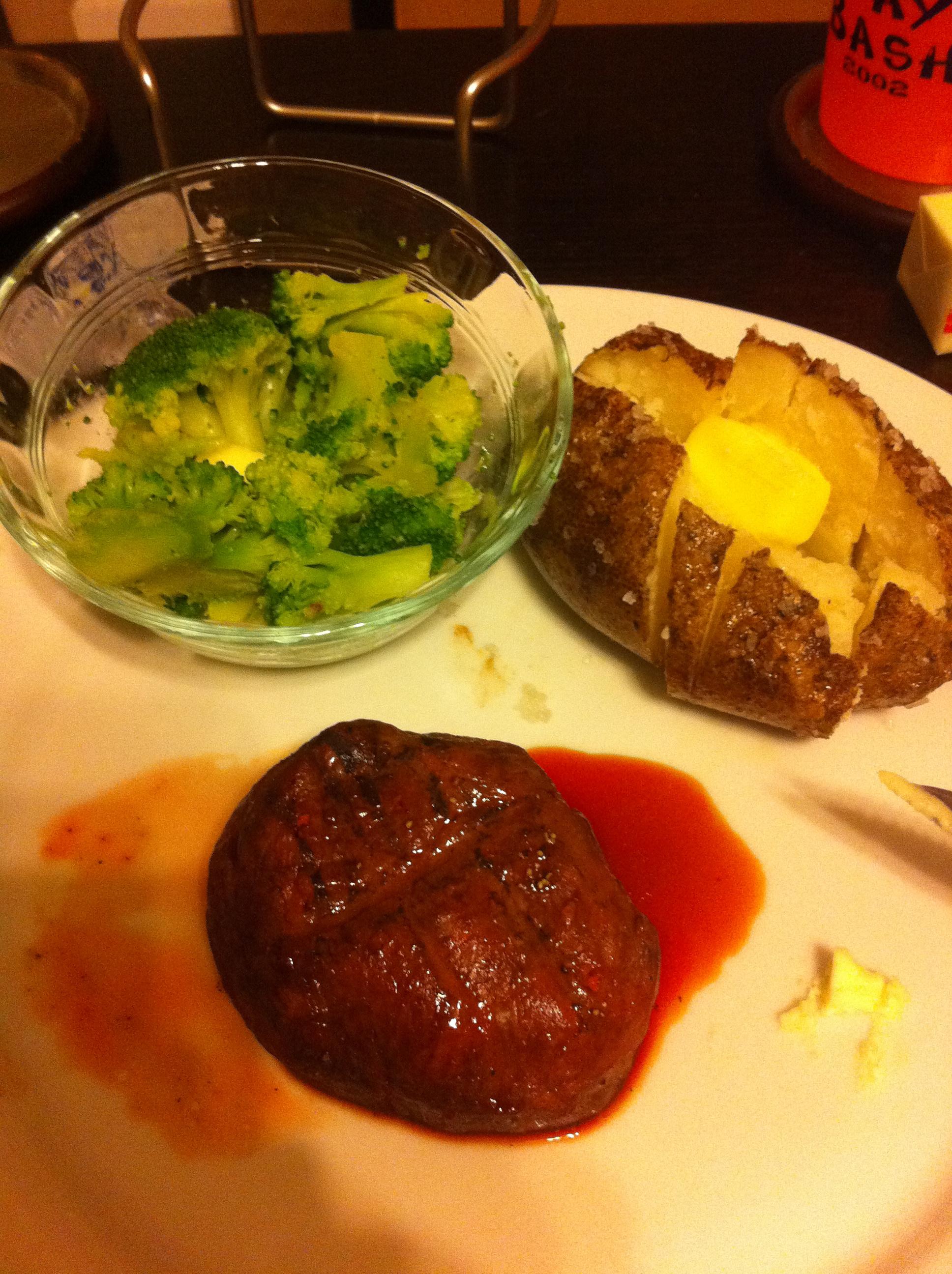 Filet Mignon for Valentine's Day by Aurora Meyer on aurorameyer.com