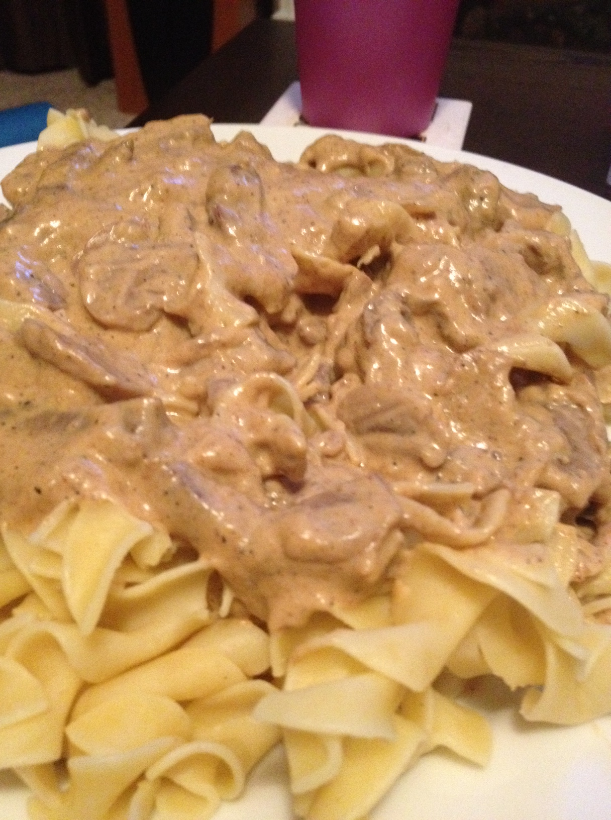 Easy Homemade Beef Stroganov by Dispatches from the Castle