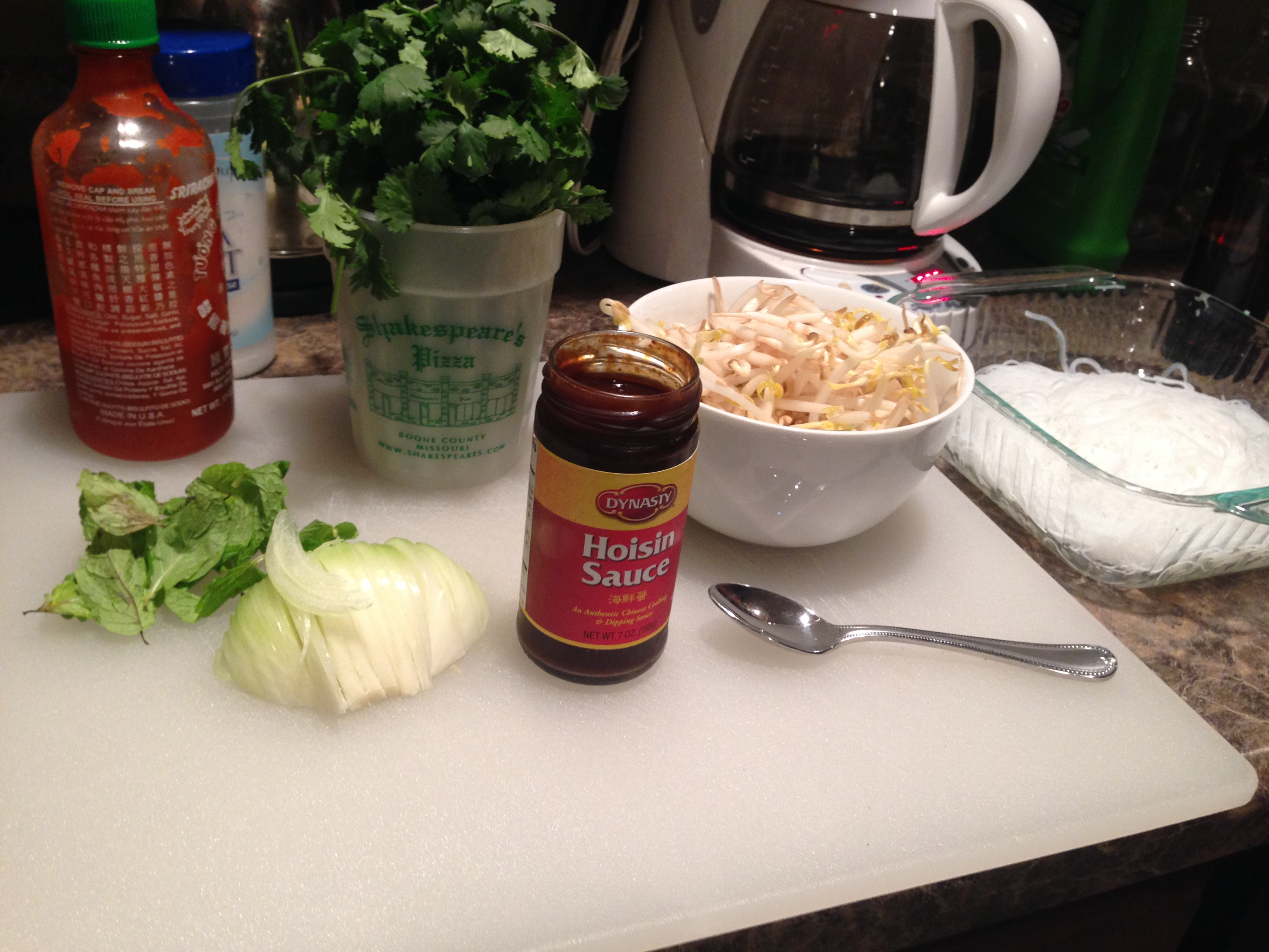 East at Home Beef Pho Ingrdients