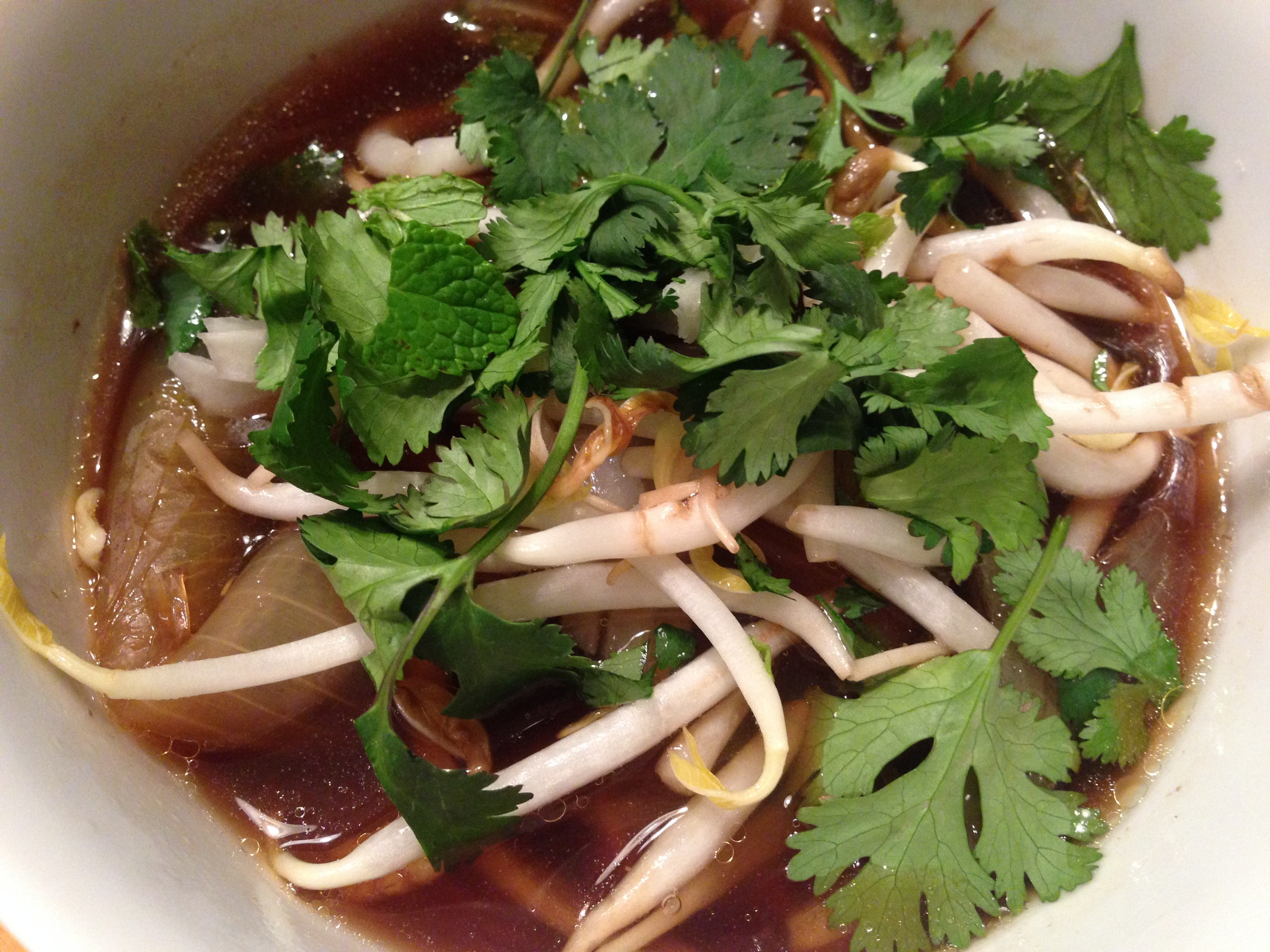 Homemade Beef Pho by Dispatches from the Castle