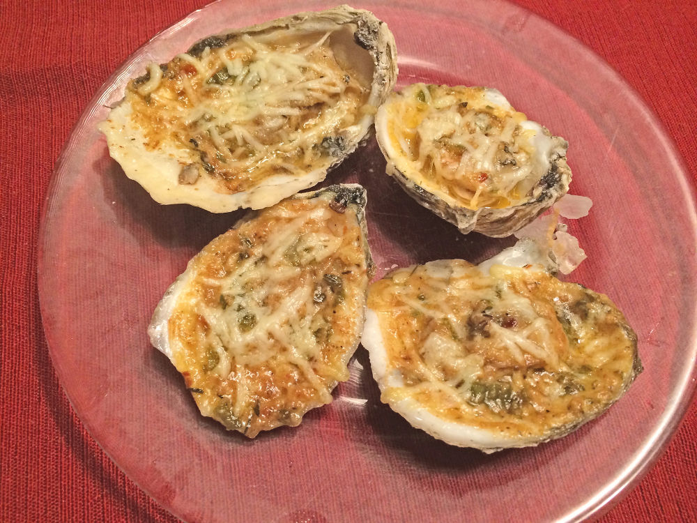 Homemade Chargrilled Oysters by aurorameyer.com