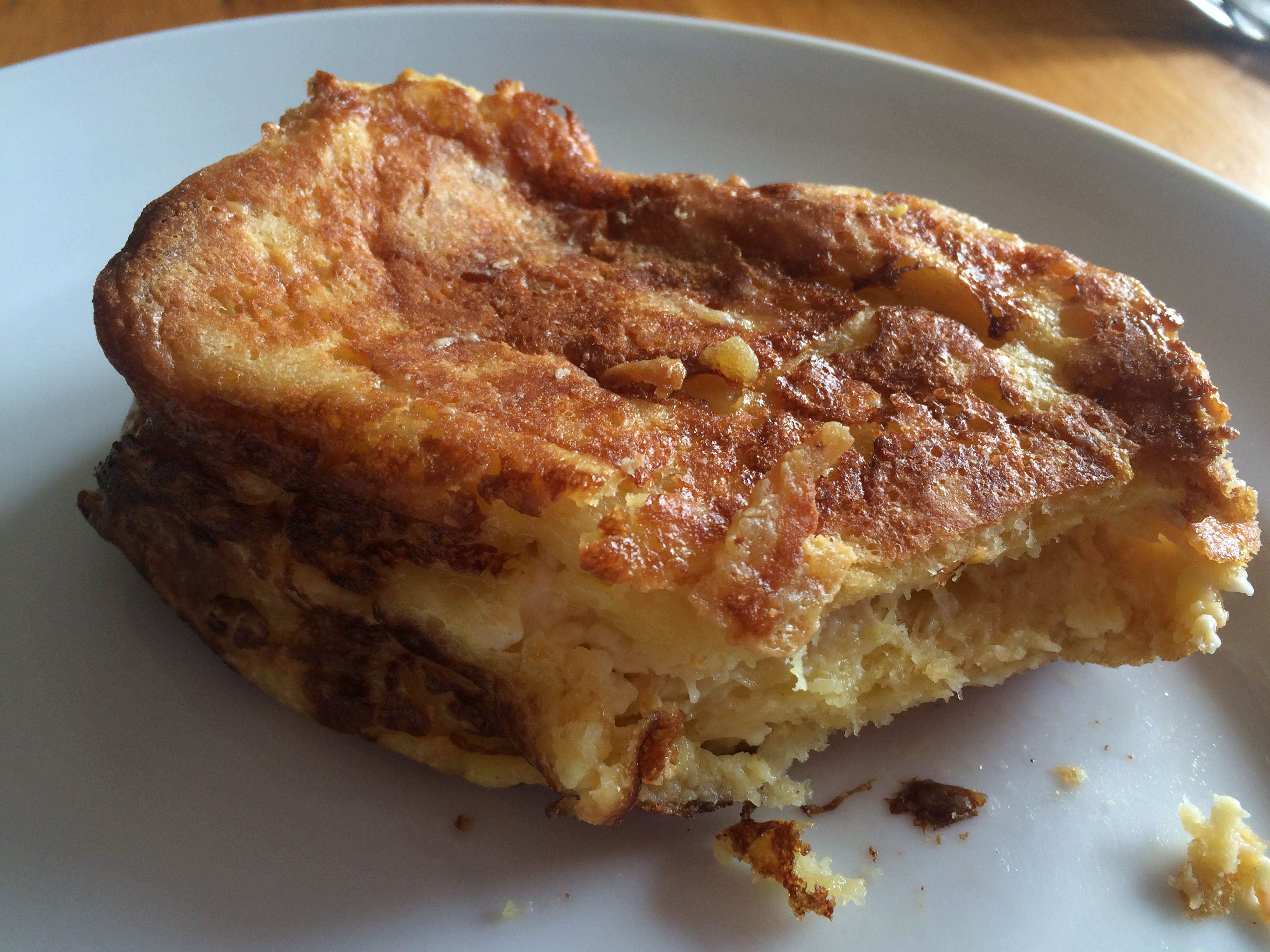 Finished stuffed french toast