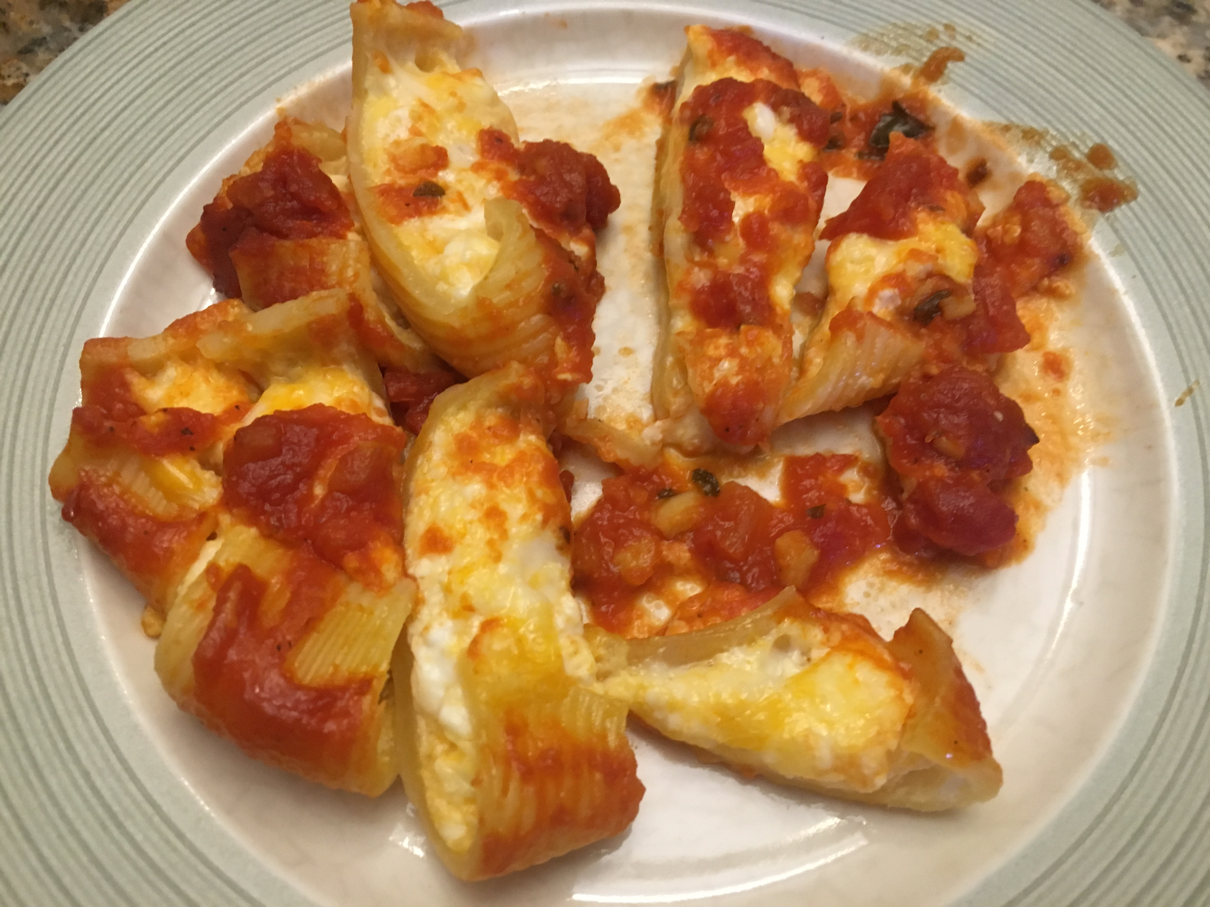 Toddler Approved: Stuffed SHells