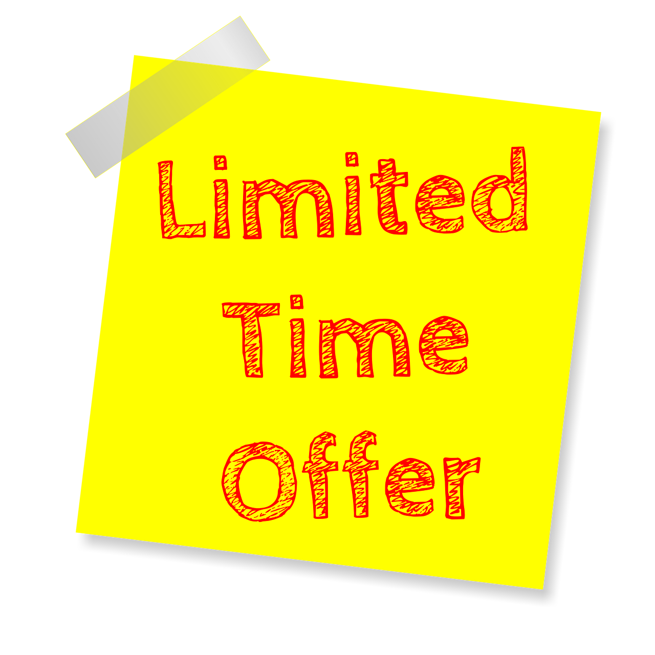 Limited Time - Pixabay