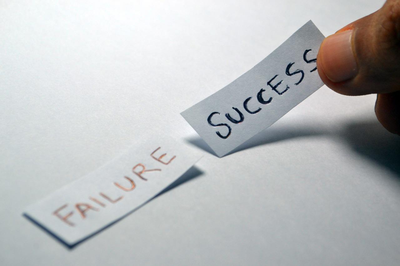 Failure - pixabay