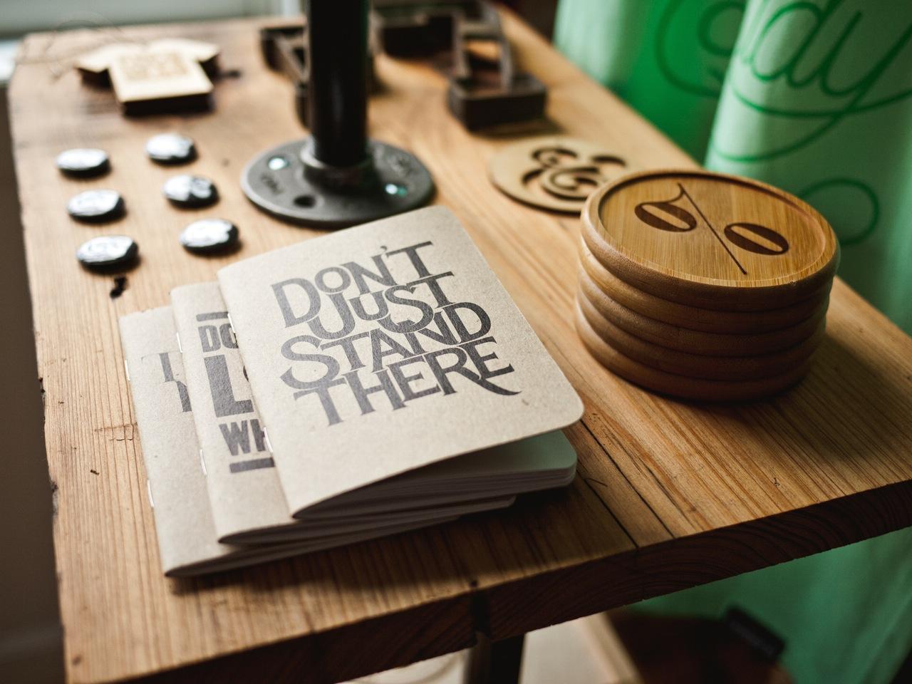 desk-designer-typography-brochure