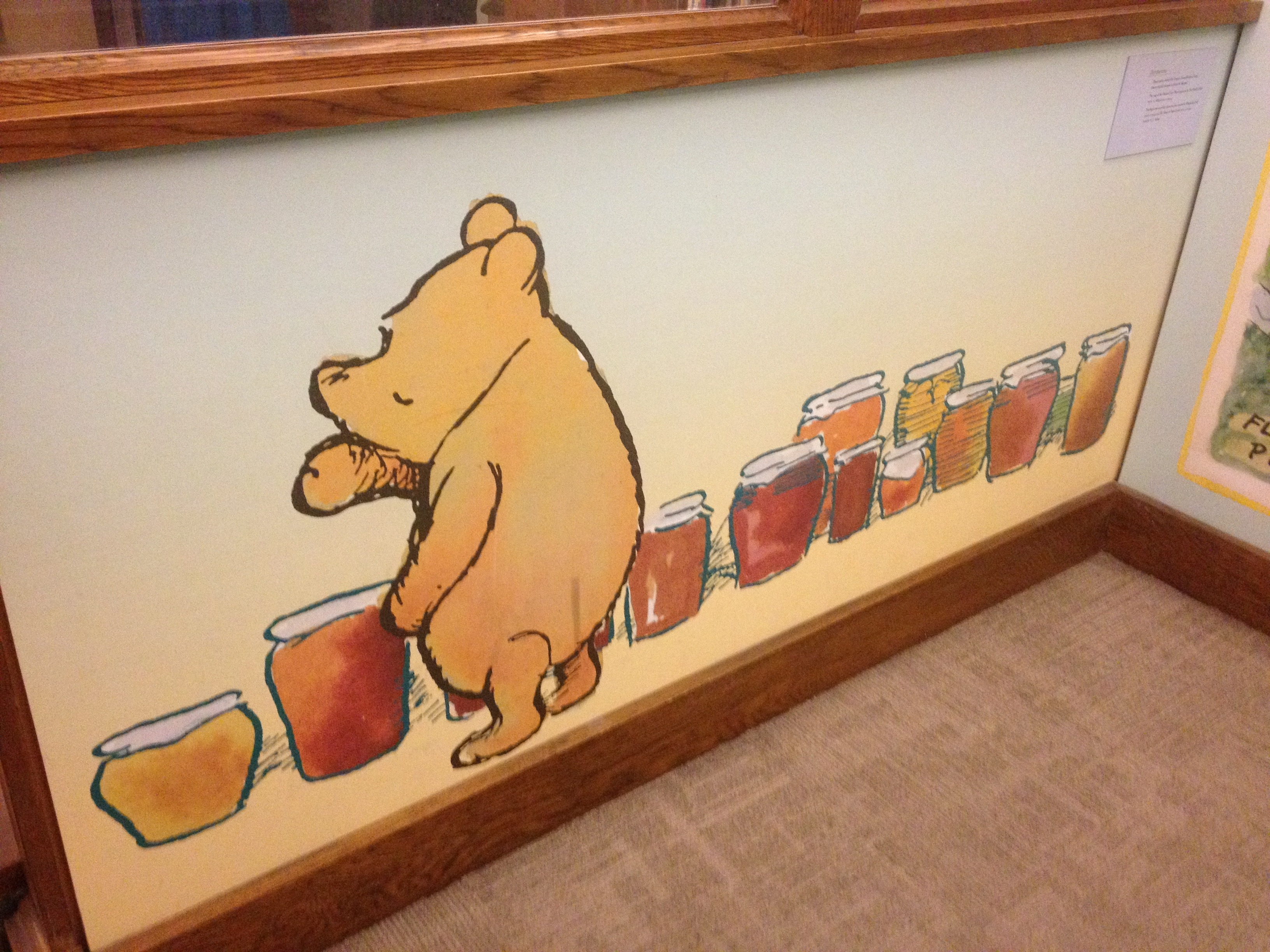 NYC Public Library Winnie the Pooh