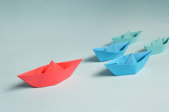 Paper Boat example of leadership.